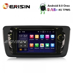 "Erisin ES7822S 7"" Android 8.0 Car Stereo GPS DAB+ DTV WiFi OBD2 CD 4G Radio Bluetooth SD SEAT IBIZA"