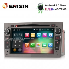 "Erisin ES7860PG 7"" Android 8.0 Car Stereo DAB+ GPS BT DVR CD DVD for Opel Vauxhall Vectra Astra Corsa Zafira"