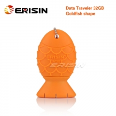 ERISIN ES332 32GB USB 3.0 Flash Stick Pen Memory Drive Data Traveler Goldfish