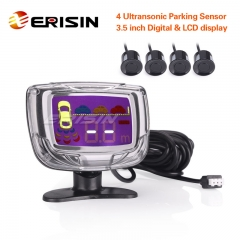 Erisin ES366 Intelligent Parking Assistant System with LCD Display