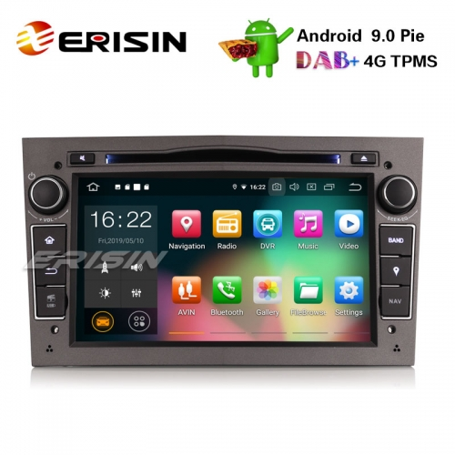 "Erisin ES7960PG 7"" Android 9.0 Opel Vauxhall Vextra Astra Corsa Estéreo DVD DAB + GPS Wifi OBD"