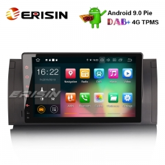 "Erisin ES7902B 9"" 8-Core Android 9.0 Autoradio GPS TNT DVR Wifi BMW 5 Series E39 E53 X5 M5 Navi 4G"