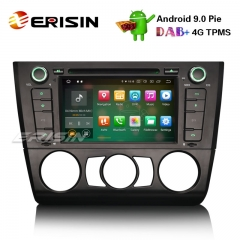 "Erisin ES7940B 7"" Car Stereo Android 9.0 DAB + GPS CD BT Satnav BMW 1 Serie E81 Hatchback E82 E88"