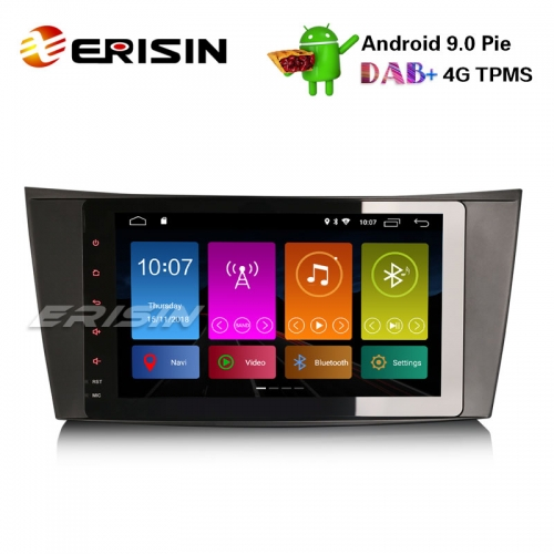 "Erisin ES2981E 8"" Mercedes Benz E / CLS / G Class W211 W219 Car Stereo GPS DAB + Android 9.0 Wifi BT"