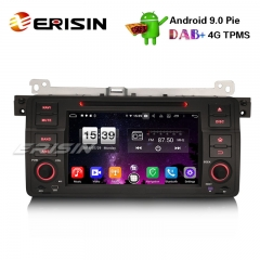"Erisin ES7746B 7"" 8-Core Android 9.0 BMW E46 318 320 325 M3 Rover75 MG ZT Car Stereo GPS DAB + CD DVD BT"