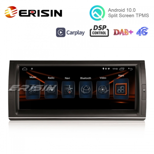"Erisin ES3003B 10.25"" DSP DAB+ Android 10.0 Autoradio BMW 5er E39 E53 M5 X5 Wifi Carplay GPS Navi"