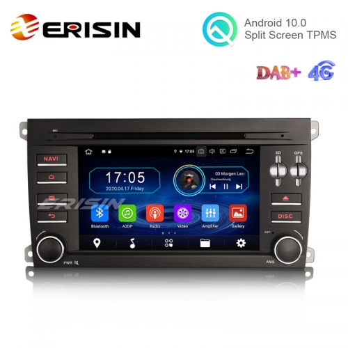 "Erisin ES5914C 7"" Android 10.0 Car Radio DVD for Porsche Cayenne with GPS WiFi BT TPMS DVR DAB"
