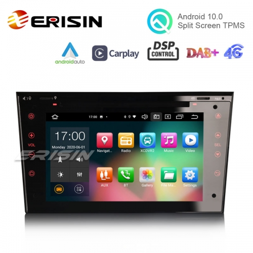 "ES8173P 7"" Android 10.0 Car DVD for Opel Signum Corsa Signum CarPlay & Auto DSP OBD DAB+ GPS Sat"